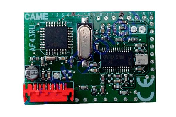 001AF43RU Радиоприемник встраиваемый для 001TOP-432EE, 001TOP-434EE