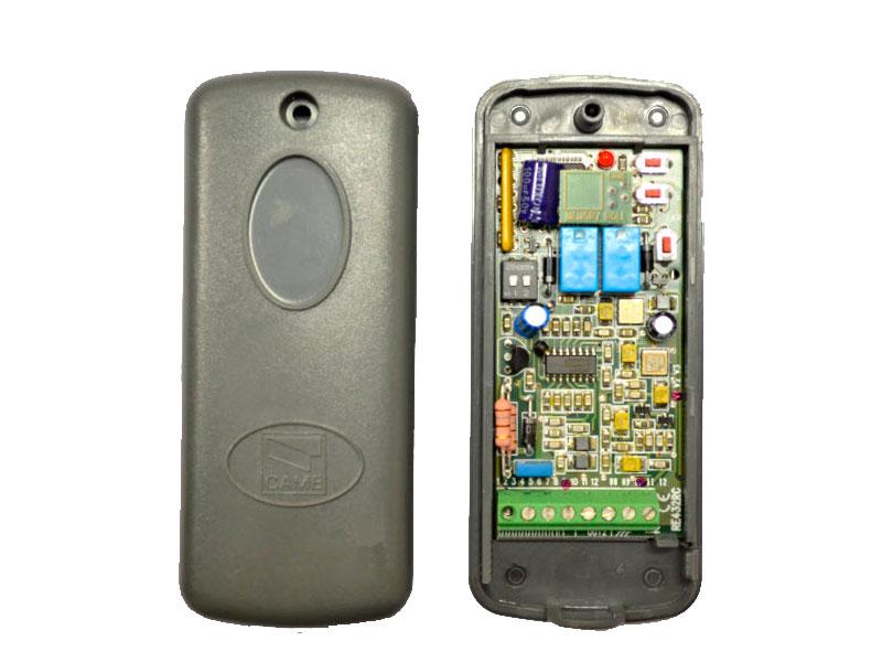 001RE432RC Радиоприемник 2-х канальный в корпусе, универсальный с динамическим кодом для 001AT02EV, 001AT04
