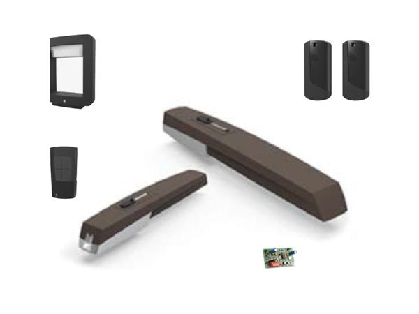 AXI BROWN комплект для распашных ворот со створками весом до 250кг или шириной до 2,2м каждая (CAME арт.001UOPP6000)