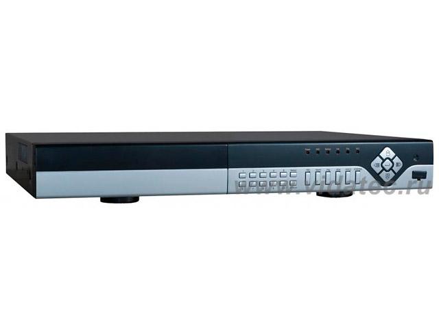 DVR-2508LEF 8-ми кан. в/регистратор ,H 264, 200 к/с в 960H, 4 аудио, пентаплекс, сеть, VGA, HDMI