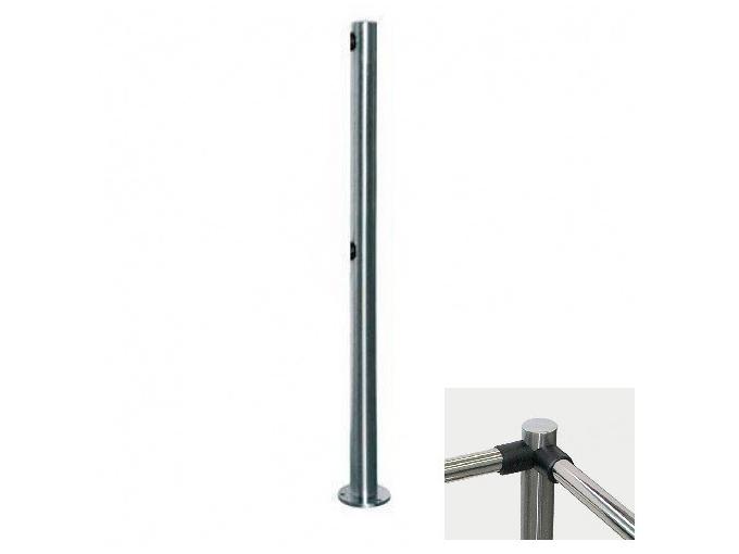 PERCo-BH02 2-02 двухсторонняя стойка с 4-мя отверстиями для крепления патрубков (угол между парами отверстий 90град.)