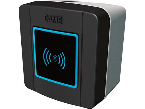 SELB1SDG1 - Считыватель накладной Bluetooth с синей подсветкой для 15 пользователей, цвет RAL7024 (арт. 806SL-0210)