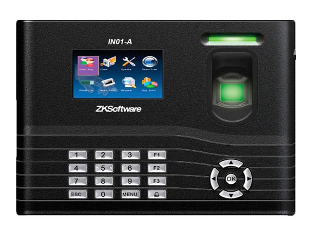 ZK IN01/ID Биометрический IP терминал УРВ с считывателем ЕМ