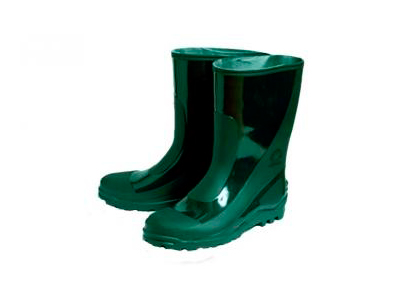 Сапоги резиновые мужские зеленые