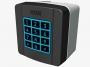 SELT1NDG Клавиатура кодонаборная накладная, 12 кнопок, синяя подсветка, цвет RAL7024 (арт. 806SL-0150)