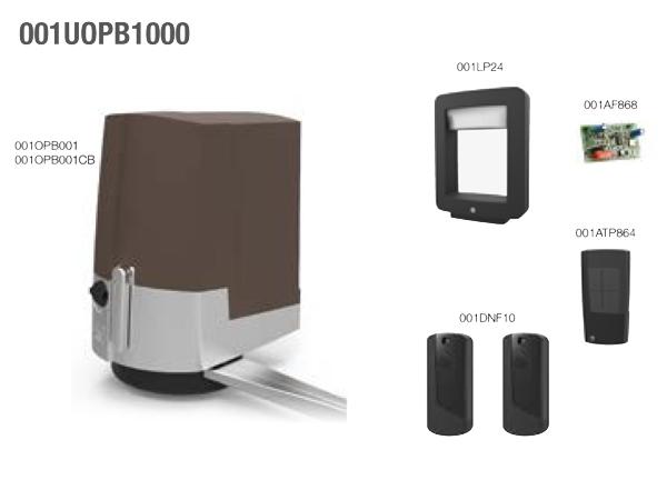 Комплект для автоматизации распашных ворот CAME FAST BROWN 001UOPB1000